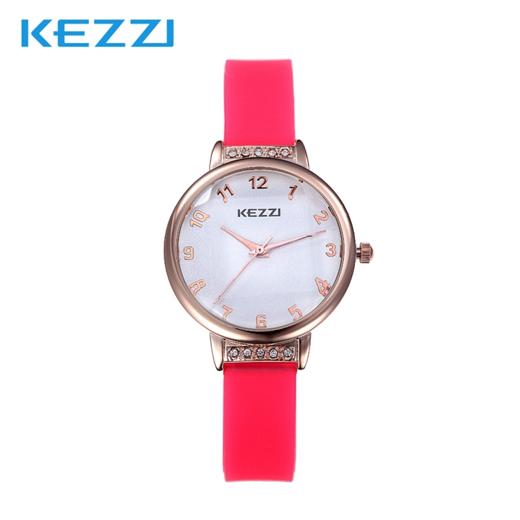 2015 girls love colorful wristwatch women dress rhinestone watches Students fashion casual Japan quartz watch Kezzi 822 clock<br><br>Aliexpress
