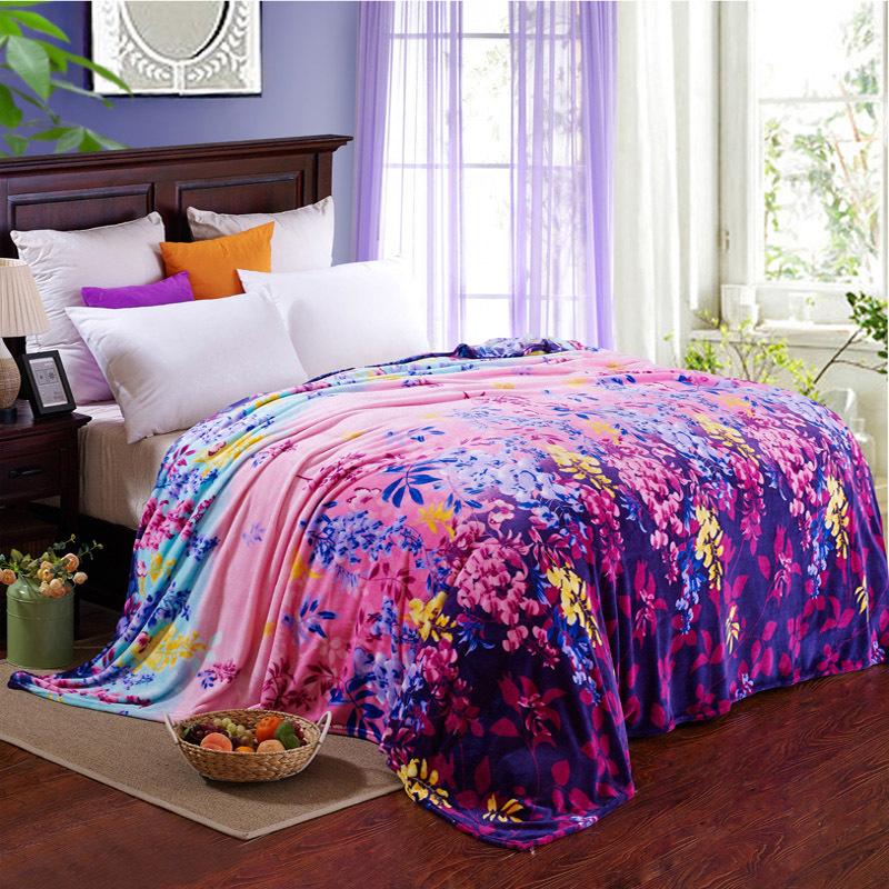 Multifunctional Blanket Sheets Warm Gift Bedding Supplies(China (Mainland))