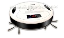 The Thinnest Robot Vacuum Cleaner,Multi-function,LED Touch Screen(China (Mainland))
