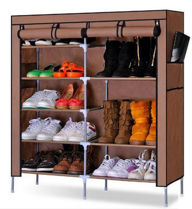 YoHere furniture utility double row folding non-woven fabric shoes cabinet assemble shoes lockers(China (Mainland))