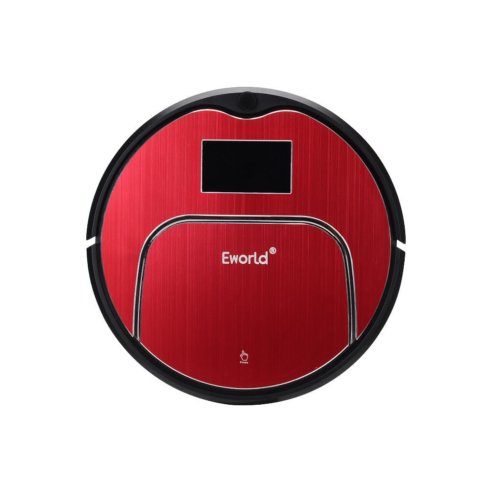 Eworld Vacuum Cleaners M883 Touch-Sensitive Auto Recharge Auto-Cleaning Anti-Fall Sensor With Big Mop Vacuum Cleaner Robot(China (Mainland))