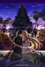 Sao:Tong and Asna—2016 Hot sale Japanese Anime Home Decor Scroll Paintings Art Canvas Wall Picture