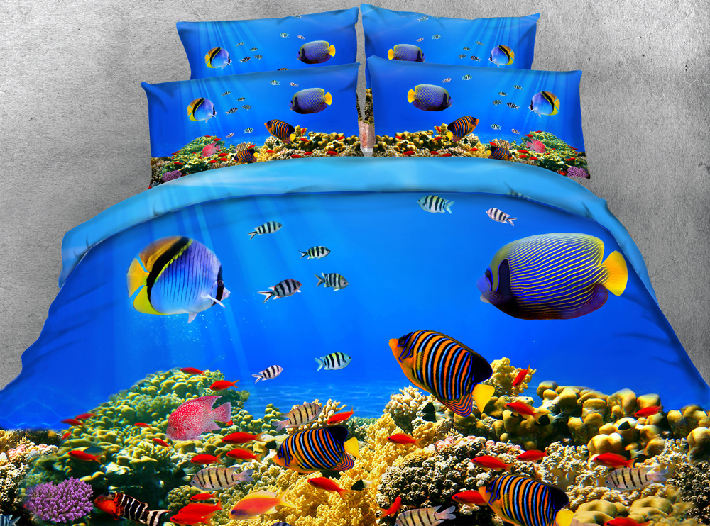 Image Result For Online Get Cheap Fish Bedding Sets Aliexpress Alibaba Group
