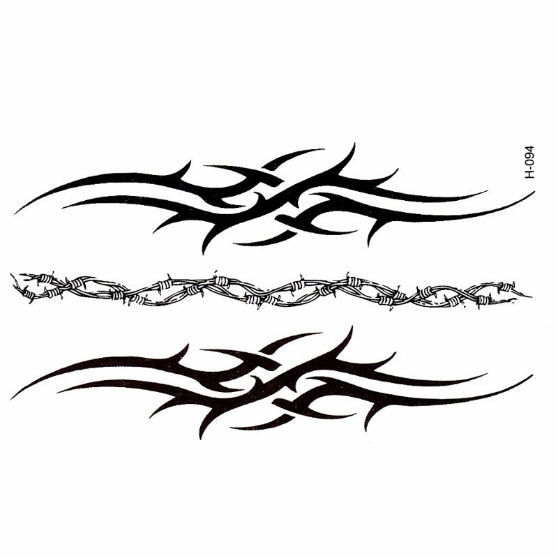 new sex products tatoo compass arrow black waterproof cover simulation Harajuku totem tattoo sticker wholesale