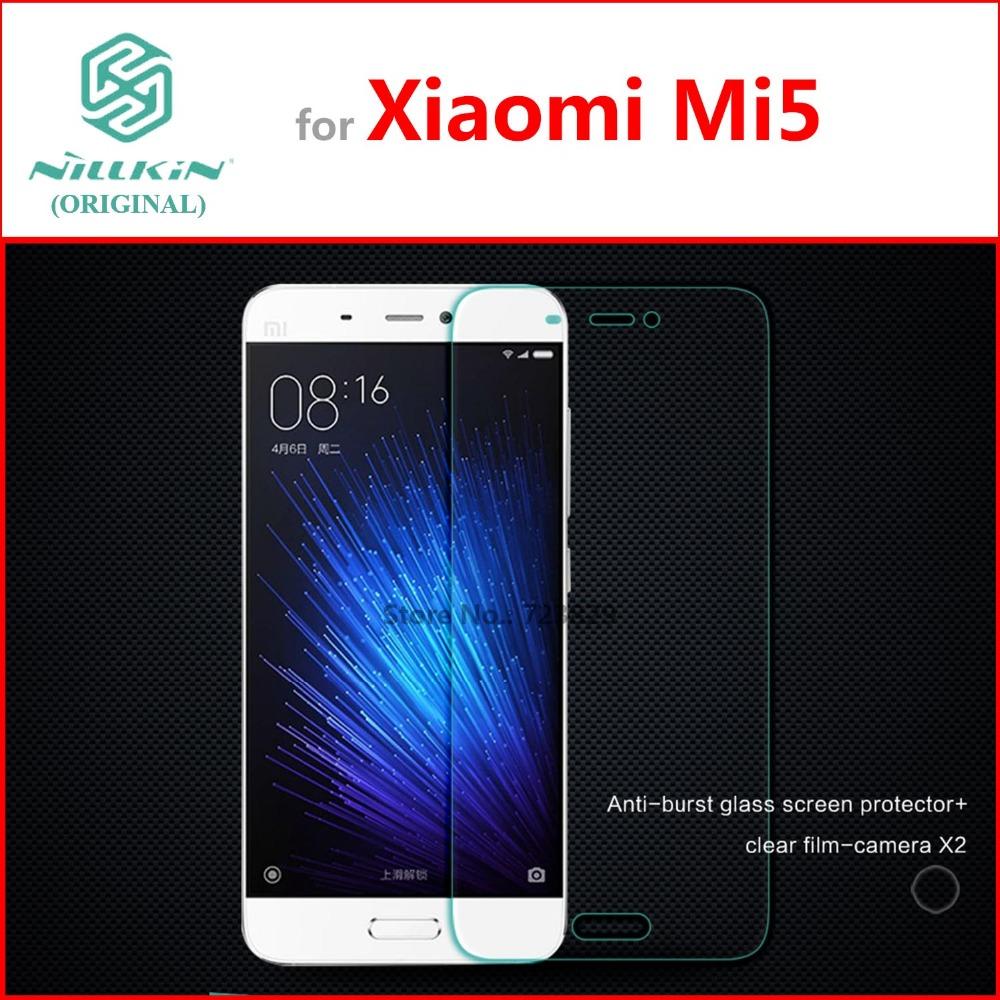 Glass Film for Xiaomi Mi5 Mi 5 Pro Original NILLKIN Amazing H Nano Anti-Explosion Tempered Glass Screen Protector(China (Mainland))