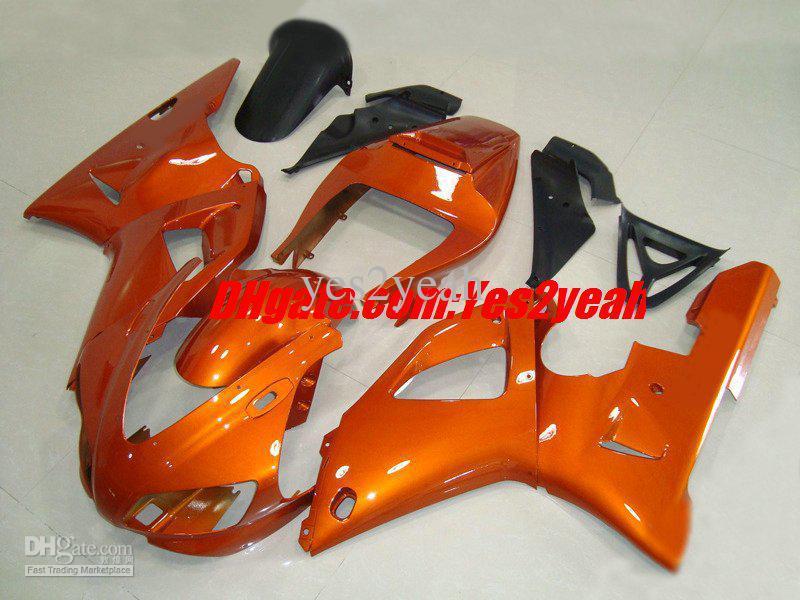 Wholesale - Classical orange Fairing kit for 1998 1999 YAMAHA YZF-R1 98-99 YZF1000 R1 YZFR1 98 99 1998-1999(China (Mainland))