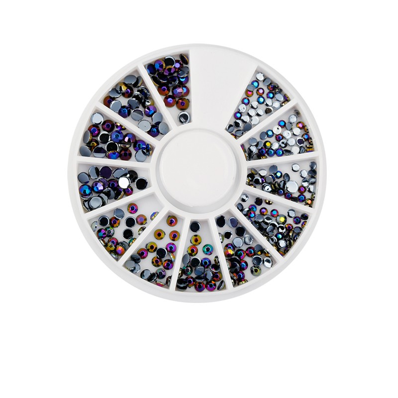 Lily-angel-Nail-Decoration-Rhinestone-Black-Silver-Multicolor-Acrylic-Nail-Art-Decoration-Glitter-Nail-Rhinestones-Nail