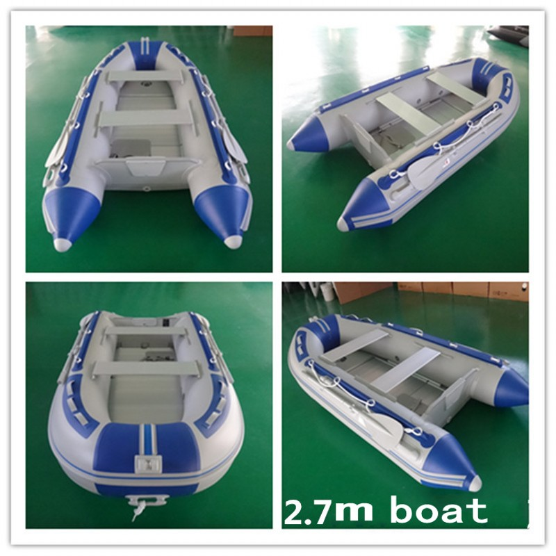 Best selling inflatable boat for fishing,OEM production aluminium floor rubber boats(China (Mainland))