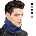 3in1 Outdoor Winter Thicken Warm Fleece Neck Warmer Snood Cycling Scarves Men Bufanda Ski Bicycle Scarf