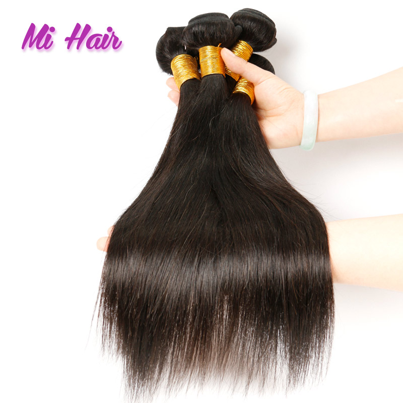 Rosa Hair Products 7a Malaysian Virgin Hair Straight 3 Bundles Unprocessed Malaysian Straight Hair Human Hair Weave Wholesale