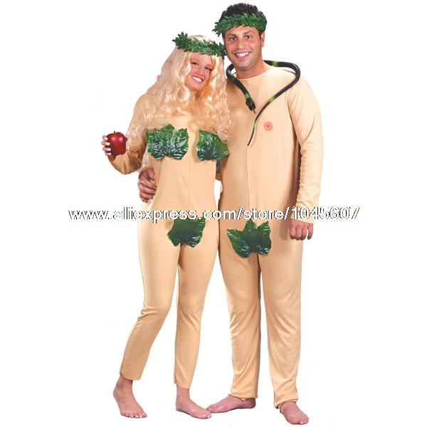 Adam And Eve Costumes Adam And Eve Adult Costume