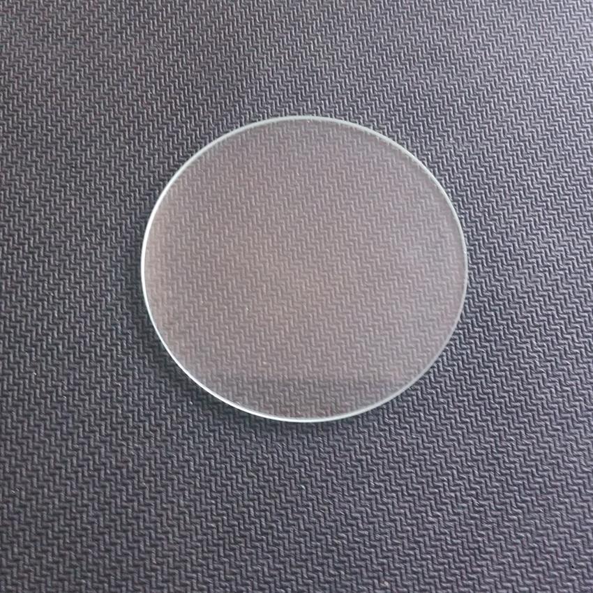 2 pieces 50mm x 2mm High Power Lens Glass for CREE XM-L2 T6 LED Bike light Flashlight Lamp(China (Mainland))
