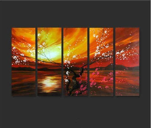 Modern Oil Painting On Canvas  abstract painting Guaranteed 100% Free shipping YP758d