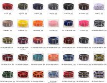 Recién llegado! 84 colores disponibles 22 MM alta calidad de Nylon reloj banda de la otan correa de reloj impermeable del wach moda 10 unids/lote(China (Mainland))