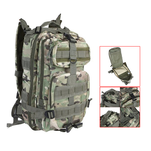 TEXU  30L Outdoor Sport Military Tactical Backpack Rucksacks Camping Hiking Trekking Bag CP Camouflage<br><br>Aliexpress