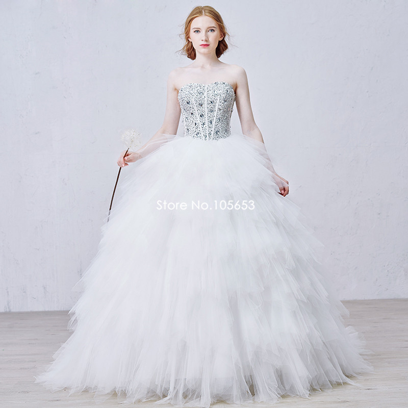 New fashion sweetheart beaded puffy lace up bride gown off for Wedding dresses less than 300