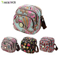 Women Messenger Bags Print Floral Cross Body Shoulder Canvas Hobo Bag Nylon Oxford Fabric Women s