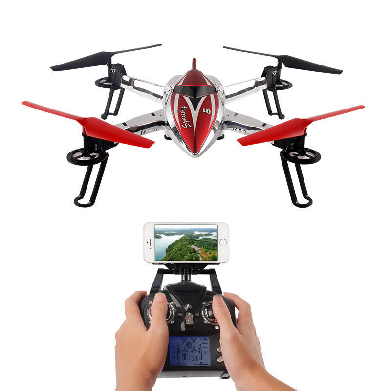 Original WLtoys Q212K WIFI Quadcopter With Camera 2.4G 6 Axis RC Drone 3D Hovering CF Mode Altitude Hold One Key Return LED RTF