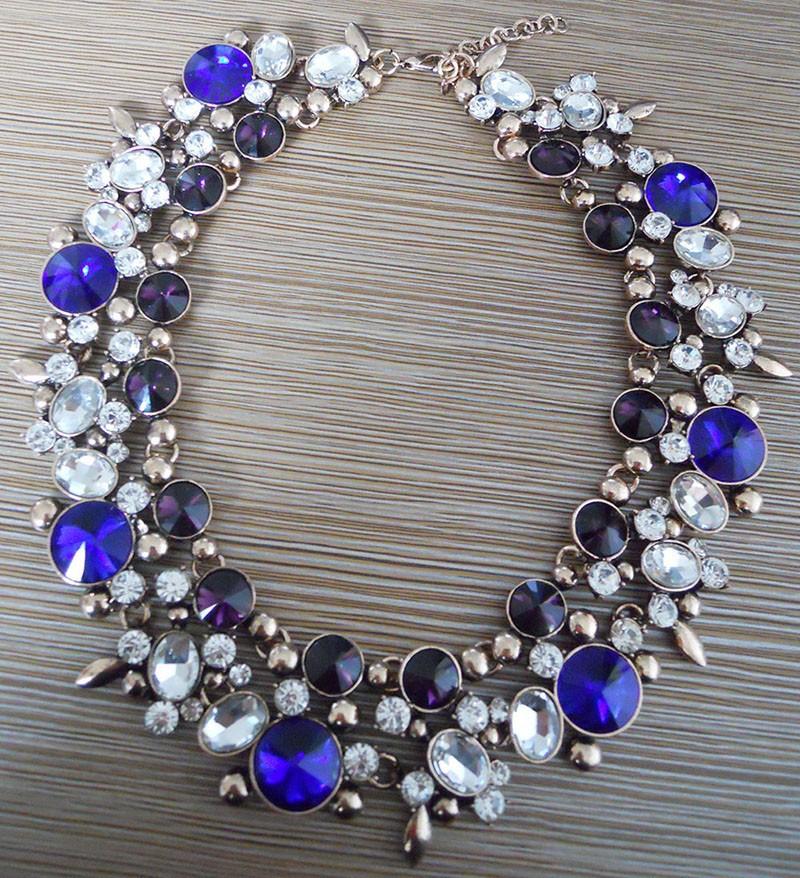 HTB1Pi8VHFXXXXahXVXXq6xXFXXX6 - PPG&PGG2017 New Luxury Women Imitation Pearl Jewelry Crystal Statement Necklace Choker Collar Lady Fashion Accessories