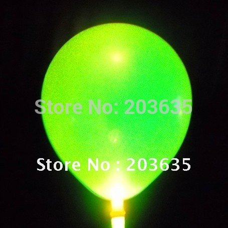 100pcs Gneration 2 led flashing light up balloon/balloon with led light/lighted flash balloon(China (Mainland))