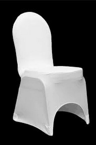 50pcs Extra Thicker Lycra Chair Cover For Wedding,White Spandex Chair Cover for Wedding Events&Party&Banqute Decoration(China (Mainland))