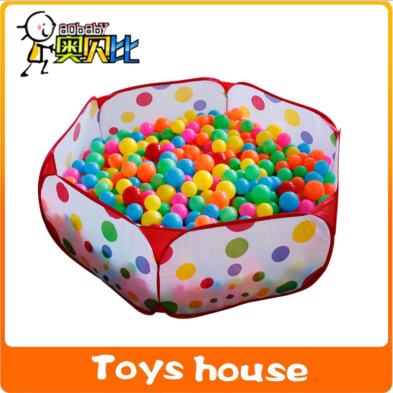 Free shipping 0.9-1.5M Ball Pool tent toys Portable Outdoor Indoor games kids tent ball pit tent(China (Mainland))