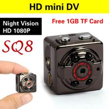 Free 1GB TF Card HD Sport Mini Camera DV DC Voice Video Recorder/spy Infrared Night Vision Digital Small Cam camcorder hidden