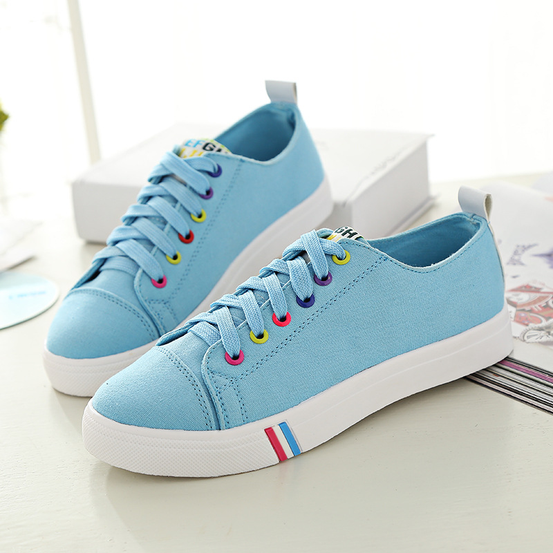 Women casual shoes 2016 new arrivals women canvas shoes zapatos mujer spring Flats Shoes women