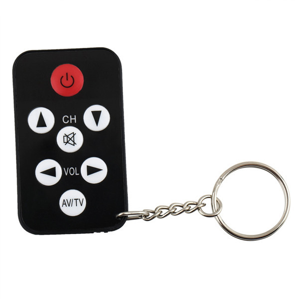 1pc TV Mini Keychain with battery Universal Remote Control for Philips for Sony for Panasonic for Toshiba Newest(China (Mainland))