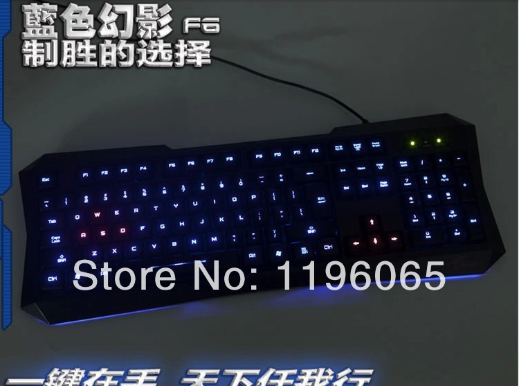 FOR gaming light up keyboard Mac or PC with numeric keypad addon(China (Mainland))
