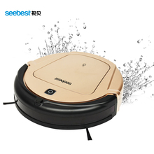 Seebest D750 TURING 1.0 GPS Navigator Planned Clean Route Robot Vacuum Cleaner with Water Tank Wet Mopping(China (Mainland))