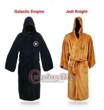 Star Wars Darth Vader Terry Jedi Adult Men's Bathrobe Coral Fleece Pajamas Onesie Cosplay Costume D1111