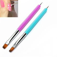Hot 2015 New Arrival Promotion  Nail Art Pen Painting Dotting Acrylic UV Gel Polish Brush Liners Tool 51OI(China (Mainland))