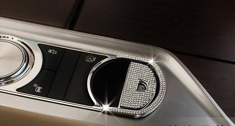 Electronic Hand Brake Cover Trim Jaguar XF XJI Car Styling - Interior & Exterior Accessories Supplier store