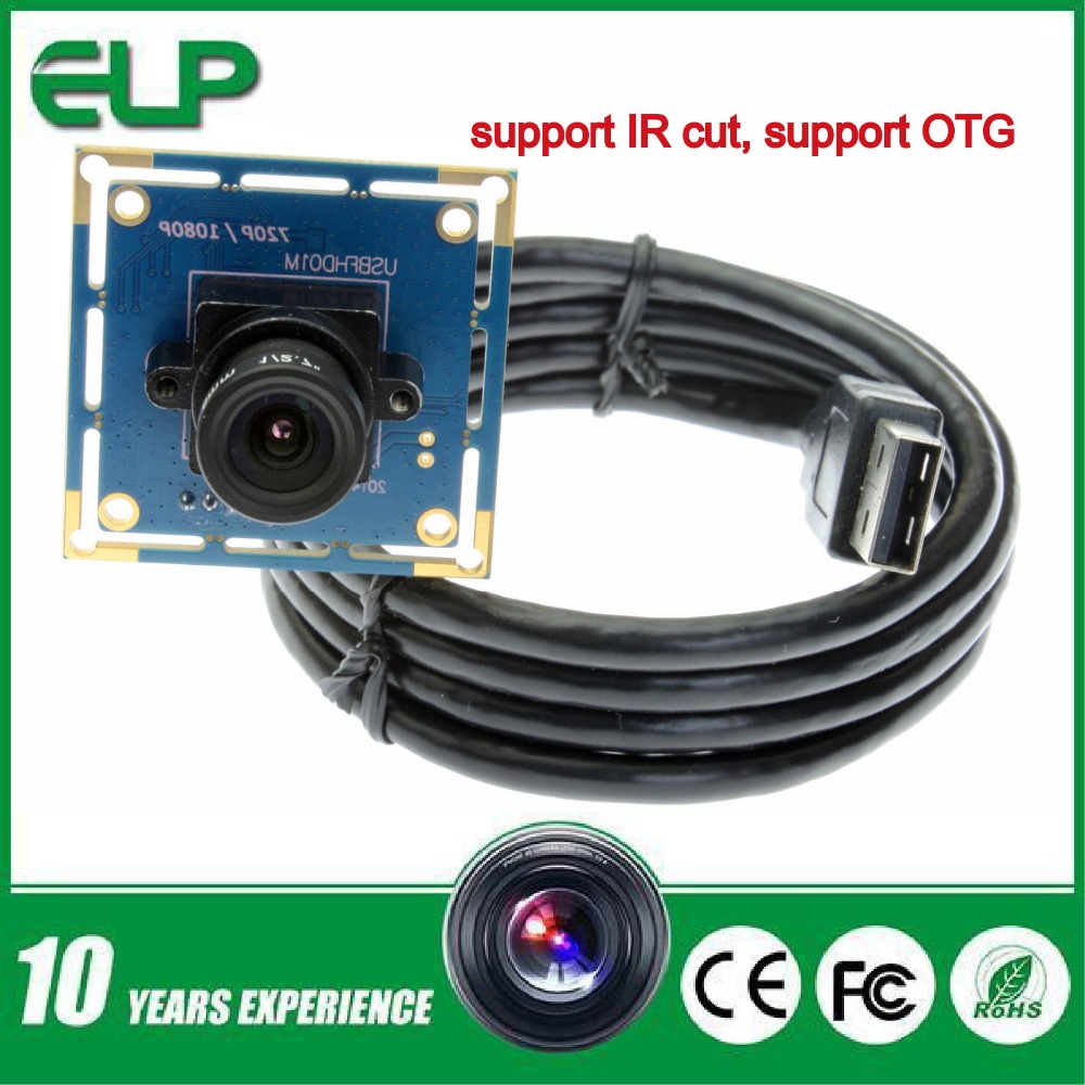 Free shipping 1080P  full hd CMOS OV2710 mini usb camera module with UVC for Windows,Android,Linux