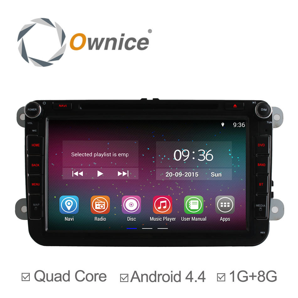 Ownice C200 Android 4 4 4 Core Car DVD for VW Golf 5 6 Polo Passat