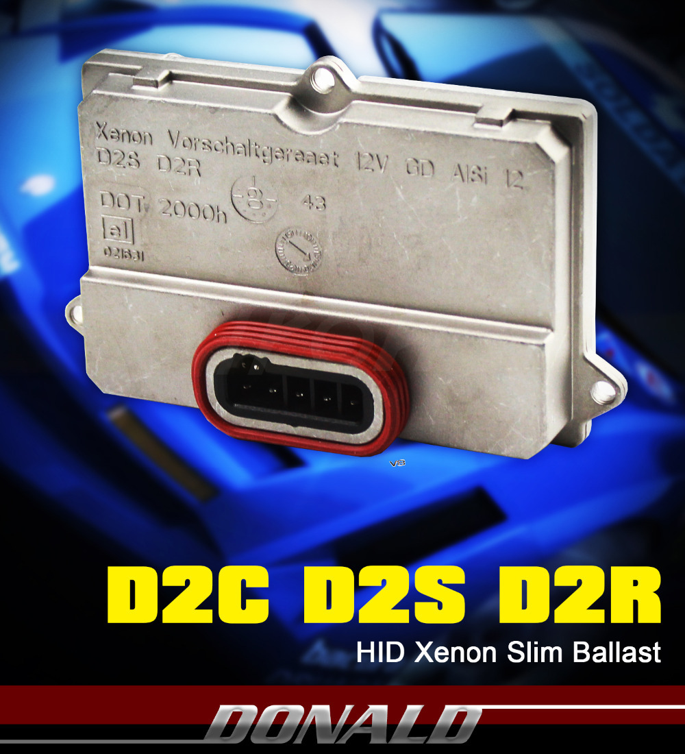 1PC D2S D2C D2R Xenon HID Replacement Silm Ballast Headlight Unit Igniter(China (Mainland))