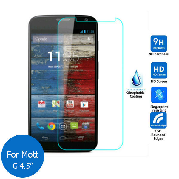 "Safety Tempered Protective Glass Film 0.3mm For Motorola Moto G DVC XT937 XT937C Screen Protector on phone 4.5""(China (Mainland))"