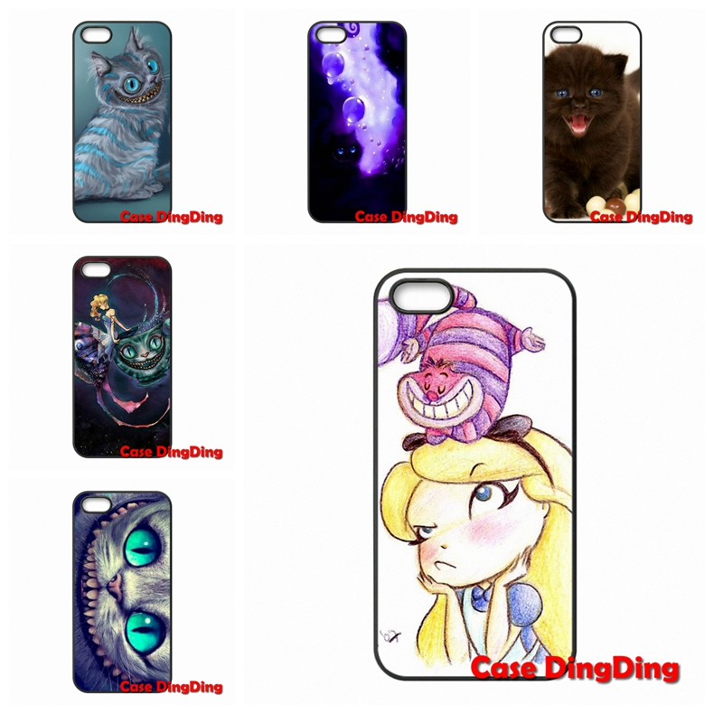 For LG G2 G3 Mini G4 G5 Google Nexus 4 5 6 E975 L5II L7II L70 L90 Stylus L65 K10 Cheshire cat cute Cases Cover(China (Mainland))