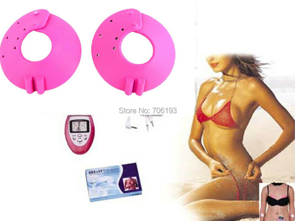 2pcs/lot Electrob Breast massager pads for Muscle Firmer Massager Healthy Breast Enhancer Enlarger free shipping