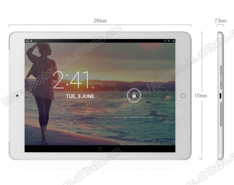 Original Onda V919 3G Tablet PC 9 7 Inch 2048x1536pixels MTK8392 Octa Core 2 0GHz 1G