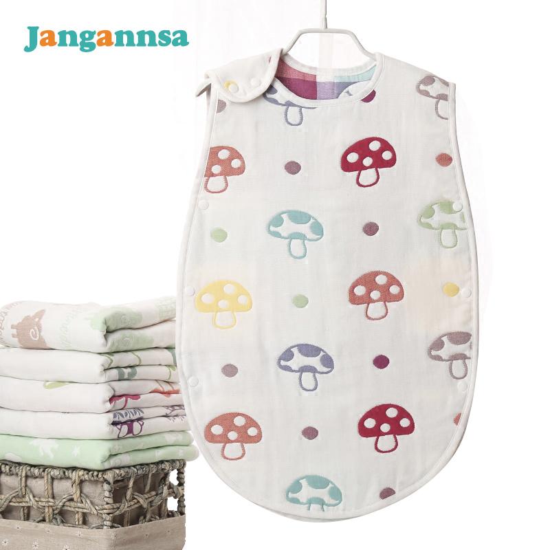Fashion Cotton Baby Sleeping Bags Boys Girls Sleeping Bag Newborn Mushroom Strawberry 2017 Spring Summer Baby Clothing(China (Mainland))