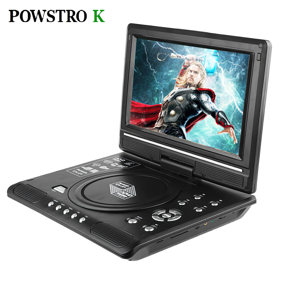 Powstrok 7.8 Inch Portable DVD Player Digital Multimedia Player U Drive Play Card Reader FM / TV / Game SVCD VCD DVCD MP4 MP5(China (Mainland))