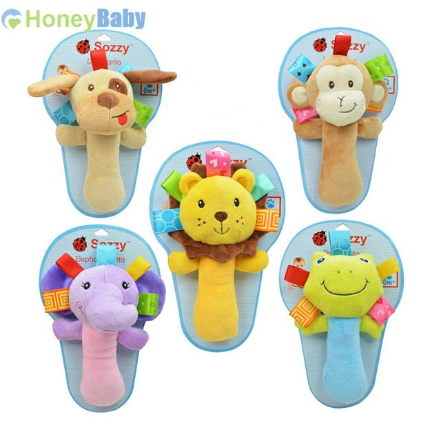 Новая детская игрушки многофункциональный колокольчик с трещеткой звон куклы Oyuncak 0 - 12 месяцев Brinquedos WJ101-WJ106