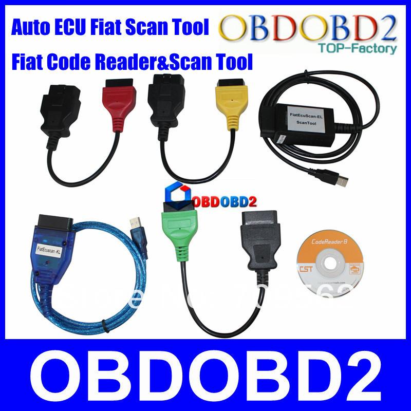 Professional  Fiat Cable Diagnostic  FIAT ECU SCAN Auto Car Diagnostic Interface 3 Years Warranty DHL Free<br><br>Aliexpress