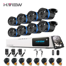 CCTV System 8CH DVR Kits HD Outdoor Security Camera System 8 Channel CCTV Surveillance DVR Kit AHD Camera Set With 1T Disk(China (Mainland))