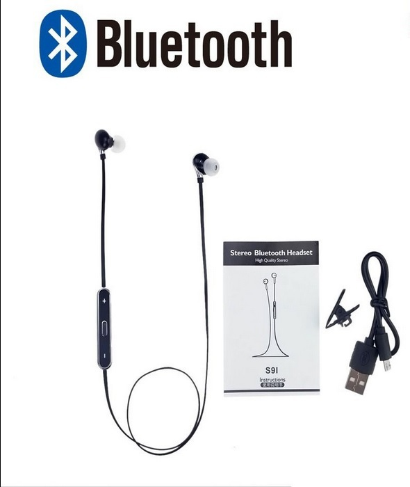 New Wireless Bluetooth Headphone Blutooth 4.1 Stereo Sport Running Headset With Microphone For iphone Samsung HTC Smartphones(China (Mainland))