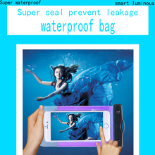 Hot Sale PVC Durable Waterproof Bag 100% Sealed Phone Cases Pouch For ZTE Blade Buzz V815W universal Waterproof Bag phone case