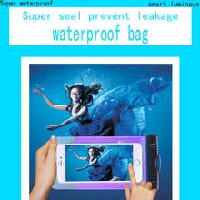 PVC Durable Waterproof Bag 100% Sealed Phone Cases Pouch For ZTE Geek II Geek 2 S2003 universal Waterproof Bag phone case