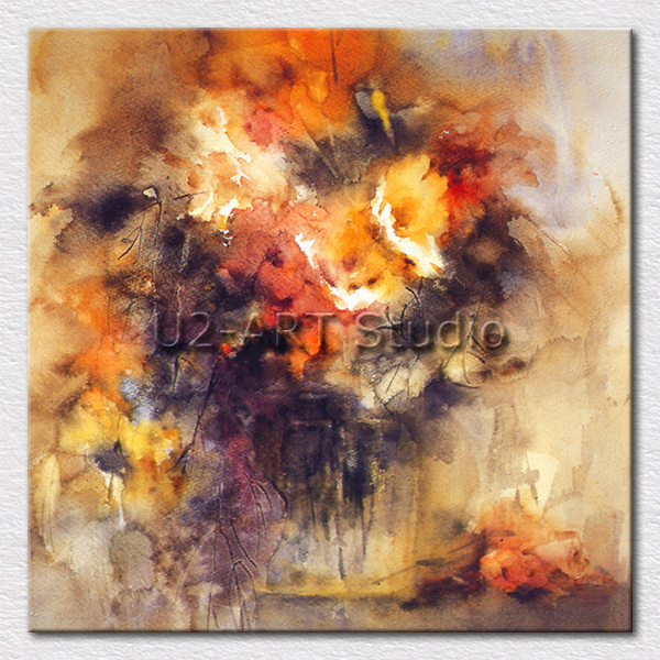 Best selling oil painting abstract canvas pictures on the hotel room decoration wall hangings gift for friends(China (Mainland))